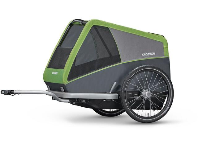Croozer Dog XL Cykelanhænger grå/grøn (2019) | bike_trailers_component